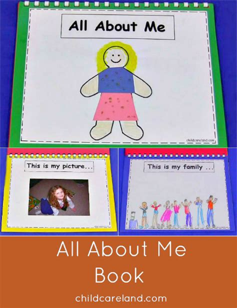 all about me picture books all about me book