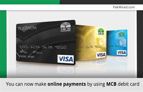 how to make payment using debit card you can now make payments by using mcb debit card