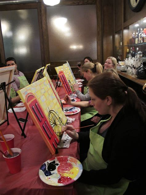 paint nite ontario web exclusive paint nite brings rookie artists friends