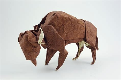 origami bison origami cows and buffalo page 1 of 2 gilad s origami page