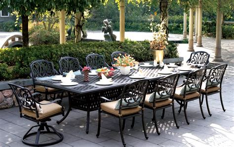11 patio dining set modway summon 11 outdoor patio dining set with reversal