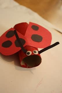 ladybug toilet paper roll craft ladybug craft with a toilet paper roll classroom ideas
