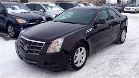 2008 Cadillac Cts Review by Pre Owned 2008 Cadillac Cts Sedan Maroon Black Cherry
