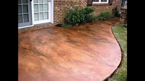 outdoor concrete patio designs creative stained concrete patio decorating ideas