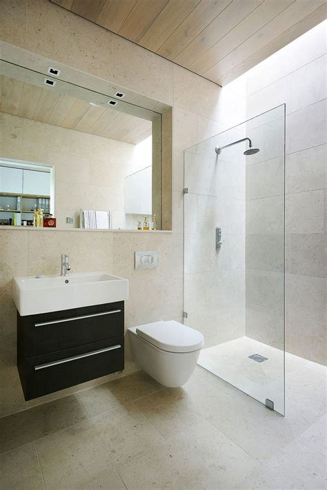 bathroom design ideas use the same tile on the floors and walls modern home decor