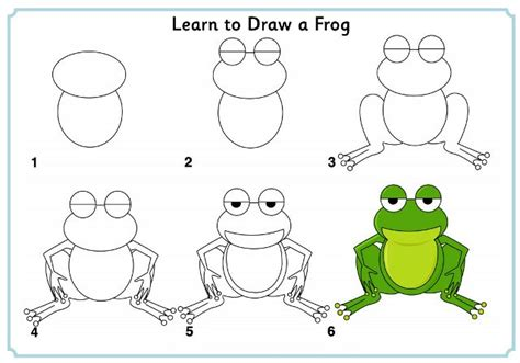 Learn To Draw A Frog Http Www Activityvillage Co Uk