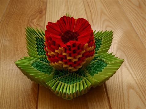 easy 3d origami 3d origami flower easy origami for crafts