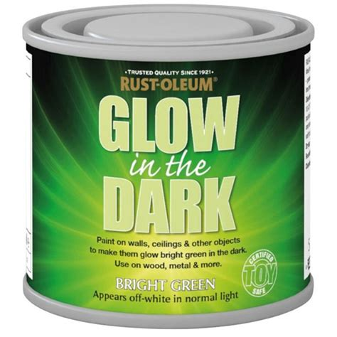 glow in the paint homebase rust oleum glow in the paint 125ml at homebase co uk