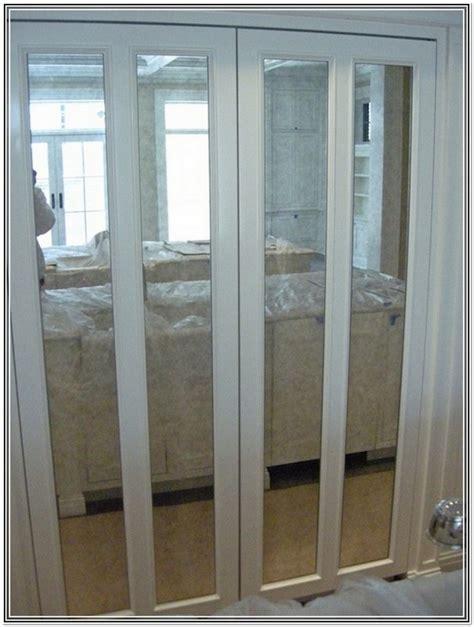 custom bifold closet door custom size mirror bifold closet doors home design ideas