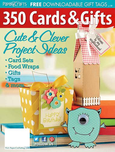 paper crafting magazine touch of creation paper crafts magazine 350 cards and