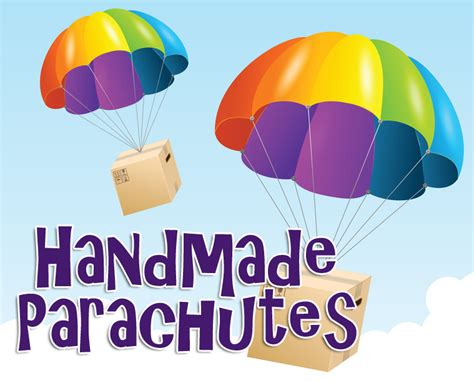 science craft projects handmade parachutes craft science experiment