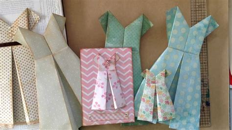 how to make a card dress how to fold a simple paper dress for a card or