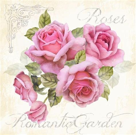 decoupage roses 17 best images about laminas on vintage roses