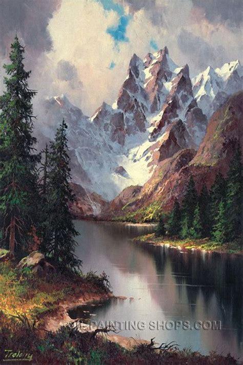 painting landscapes best 25 landscape paintings ideas on