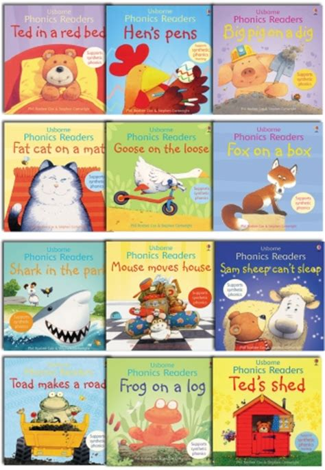 usborne picture books gift set usborne phonics readers 12 picture books collection
