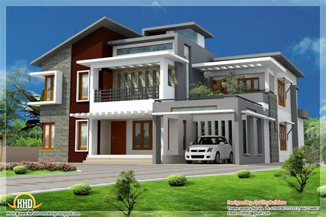 modern house styles july 2012 kerala home design and floor plans