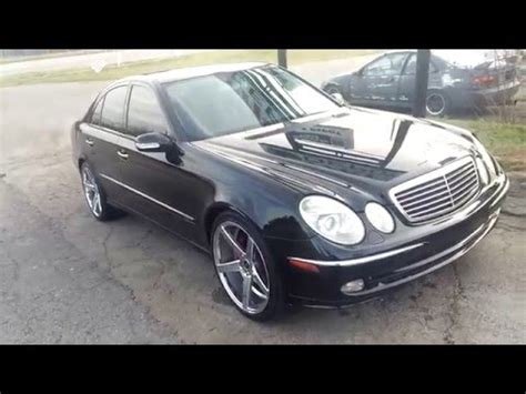 2003 Mercedes E320 by 2003 Mercedes E320 Sport On 20s For Sale