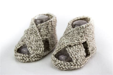 knitted baby sandals free pattern knitting pattern baby boy sandal pattern cross sandal
