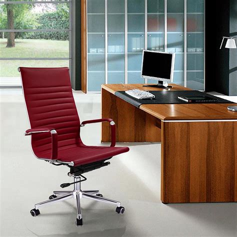 ergonomic home office desk ergonomic high back pu leather office chair computer desk