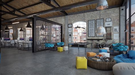 office design loft it office interior design