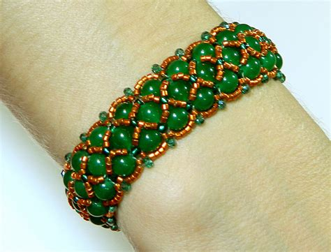 buy beaded bracelets isolde beautiful beaded bracelet with jade by