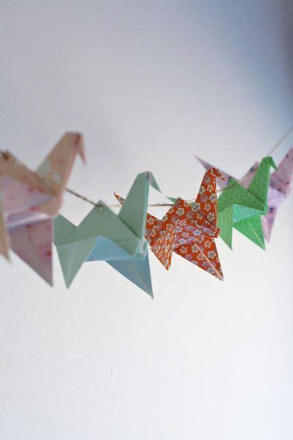 origami garland best 25 origami garland ideas on origami