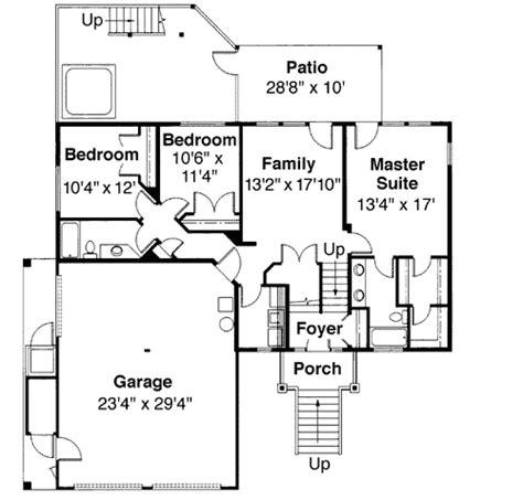 tri level home plans designs tri level house plan with loft overlook 72197da architectural designs house plans