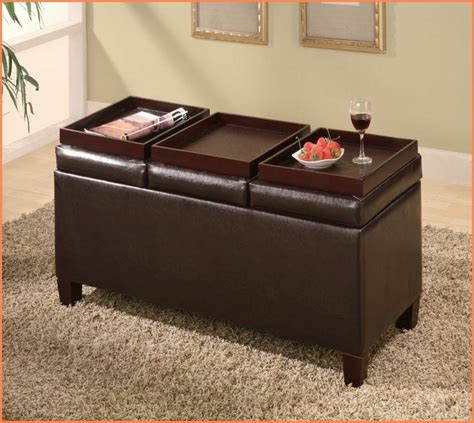 storage ottoman coffee table with trays coffee table wonderful ottoman coffee table tray ottoman