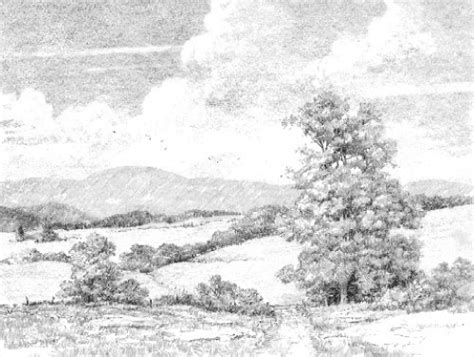 landscapes to draw how to draw a landscape