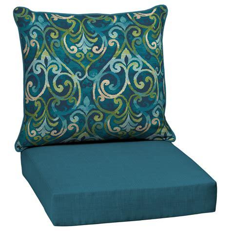 patio chair pillows shop garden treasures damask seat patio chair cushion