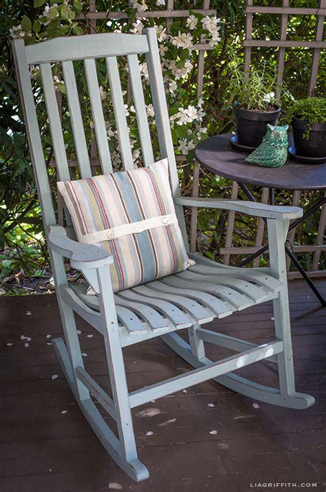 diy chalk paint chair diy vintage painted rocking chairs chalk paint tutorial