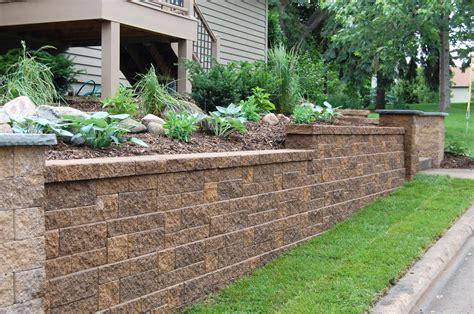 garden walls blocks block and retaining wall construction company va