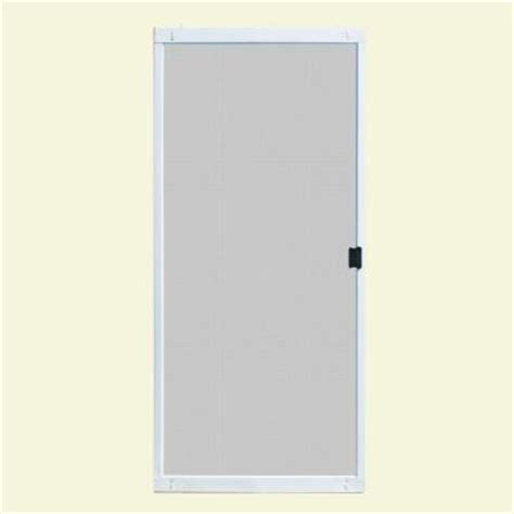 patio door screens home depot unique home designs 36 in x 80 in standard white metal