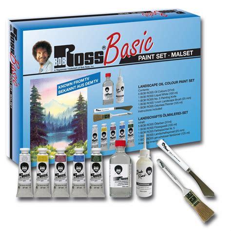 bob ross painting kits uk basic landscape paint set bob ross from craftyarts
