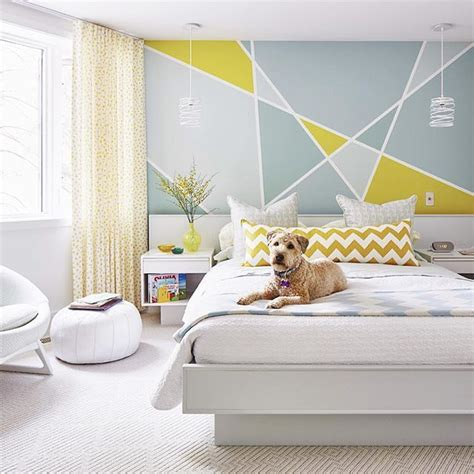wall designs for bedroom paint 25 best ideas about geometric wall on