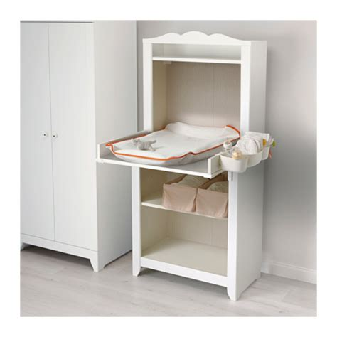 baby changing table ikea hensvik changing table cabinet white ikea