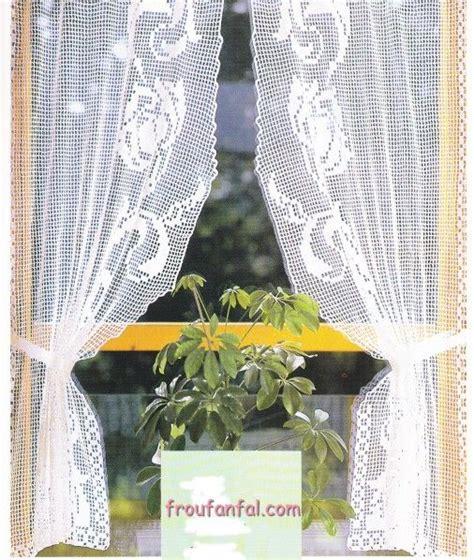 1000 id 233 es sur le th 232 me rideaux en crochet sur filet crochet crochet et album