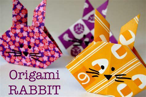 origami easy rabbit origami kit for tinkerlab