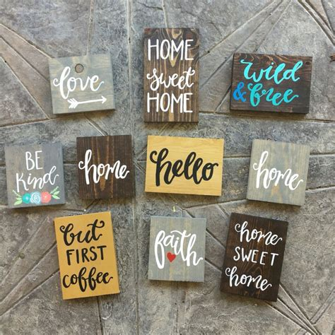 best 25 painted signs ideas on wood