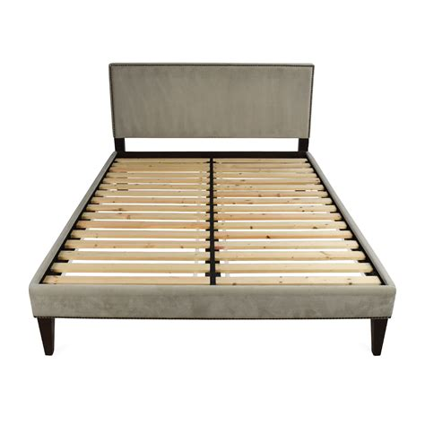 west elm chunky wood bed frame reclaimed wood bed west elm bedsheadboards