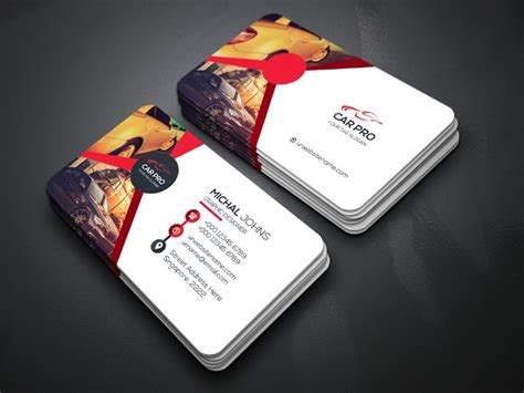 how to make a car card car business card business card templates creative market