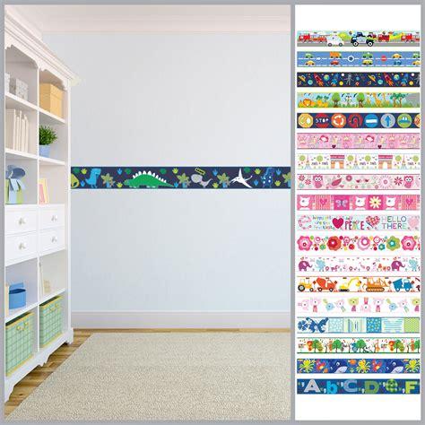 wallpaper borders for bedroom wallpaper borders children s nursery boys