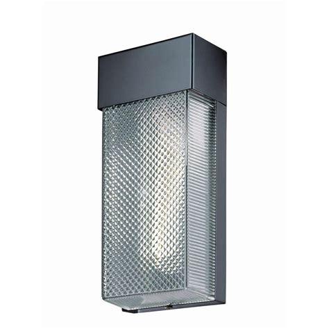 home depot outdoor wall lighting hton bay 1 light black outdoor wall l hb7023p 05