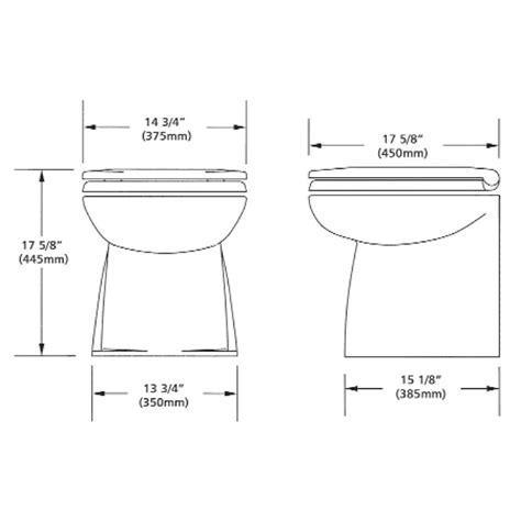 Jabsco Deluxe Toilet by Jabsco 58040 3012 Marine Deluxe Toilet Regular Size 12v Dc