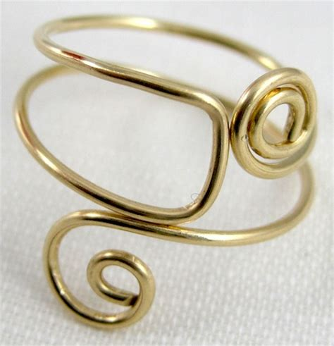 Easy Folded Wire Ring Tutorial Jewelry Journal