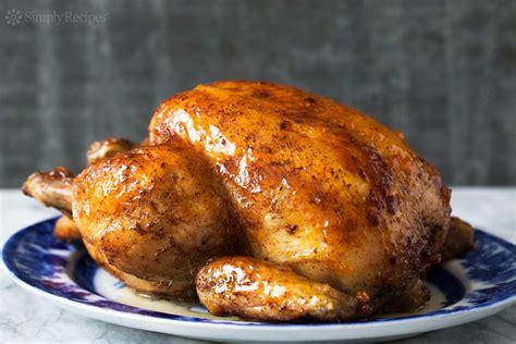 roast whole chicken roast chicken with apricot glaze recipe simplyrecipes