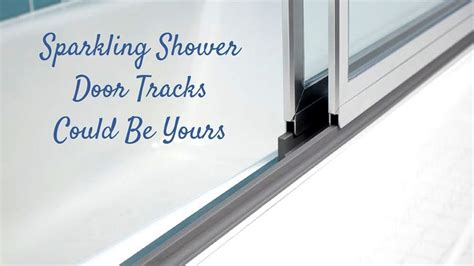 best cleaner for glass shower doors 17 best ideas about cleaning shower doors on