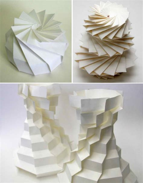 3d origami projects math paper craft computer scientist creates 3d origami