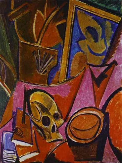 picasso paintings hermitage composition with a skull pablo picasso painting