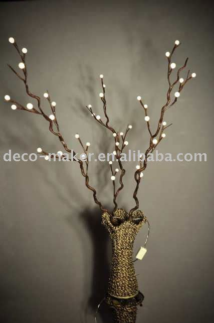 branches with lights tree branch with lights home ideas designs